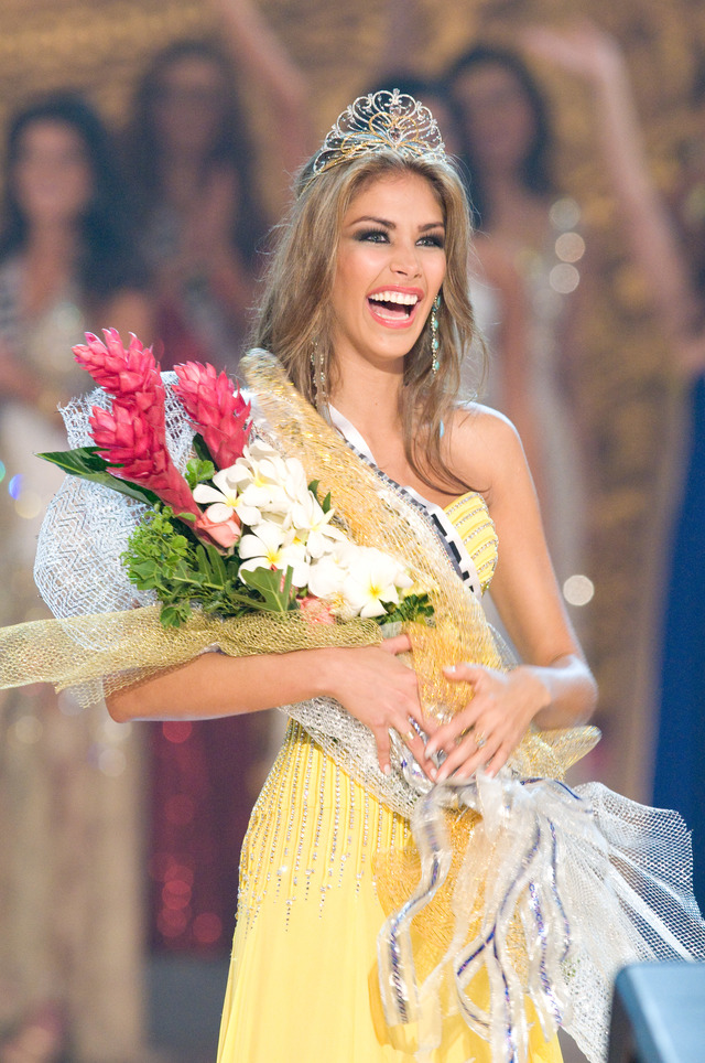 MISS UNIVERSE 2008. Venezuela's Dayana Mendoza takes home the crown. Photo from Miss Universe Organization