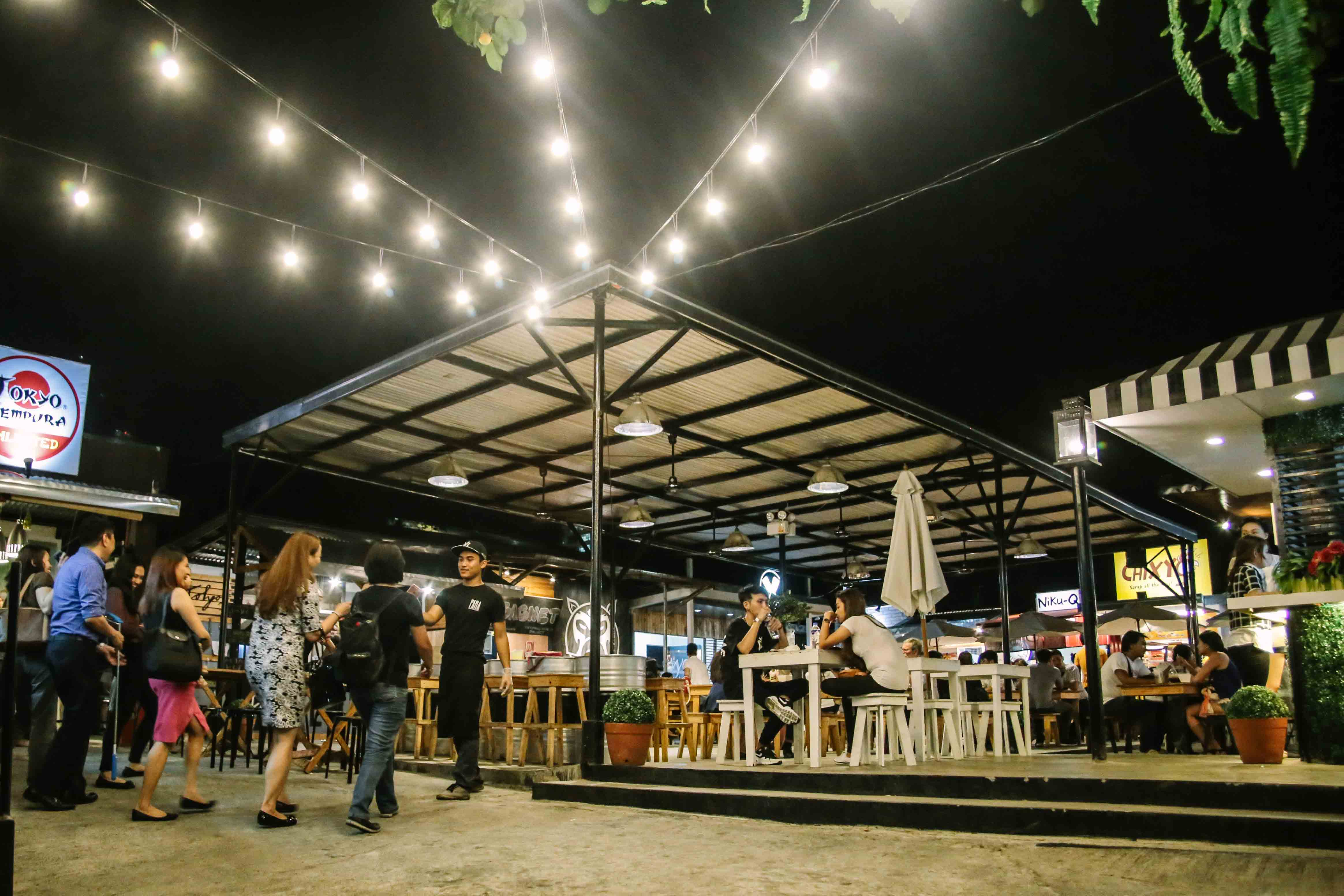 Inside Gastro Park Kapitolyo: A look at all 15 food stalls