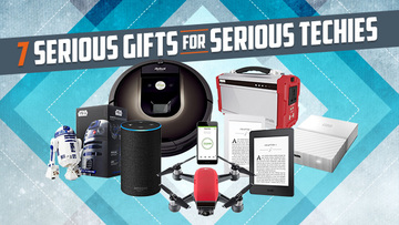 Christmas Gifts For Techies.7 Serious Gifts For Serious Techies