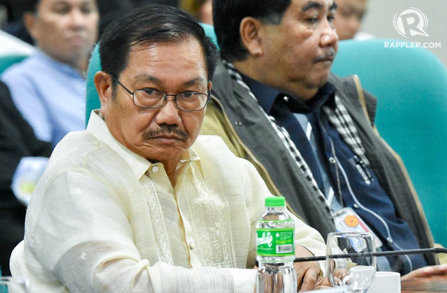 NEW ROLE? Agriculture Secretary Emmanuel Piñol's possible appointment as Mindanao Development Authority secretary is not supported by many in the Bangsamoro region, says Bangsamoro Transition Authority chief Murad Ebrahim. File photo by Angie de Silva/Rappler