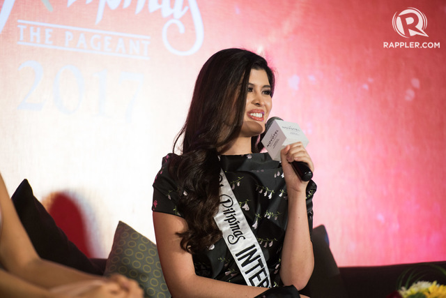 BREAKING THE CURSE? Mariel de Leon hopes to win the country's 7th Miss International crown. Photo by Martin San Diego/Rappler