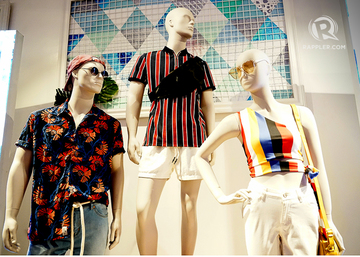 8062bb3b6 Retro prints meet modern silhouettes for Penshoppe's Spring-Summer  collection