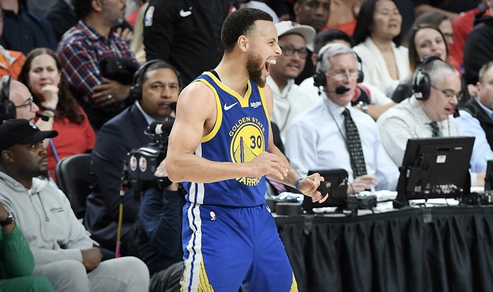 West champs: Warriors punch 5th straight NBA Finals ticket