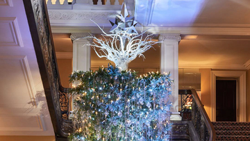 Unconventional Christmas Trees.Look Upside Down Christmas Trees Are Trending This 2017
