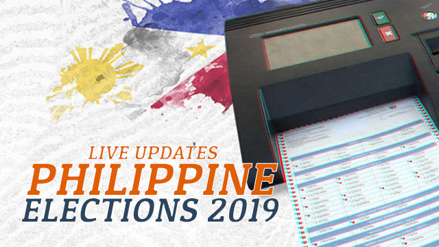 LIVE UPDATES: Philippine elections 2019